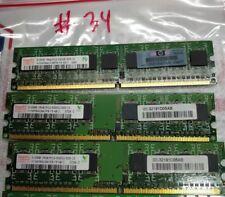 Hynix 1.5GB (3x512MB) 1Rx8PC2-5300U-555-12 RAM MEMORY HYMP564U64CP8-Y5