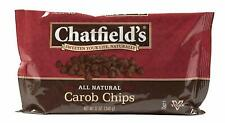 Chatfield's Carob Chips, 12-Ounce Units (Pack of 4) - Sweetened with Beet Sugar