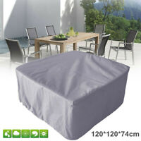 Waterproof Square Table Furniture Cover Garden Yard Patio Outdoor Sun  AH
