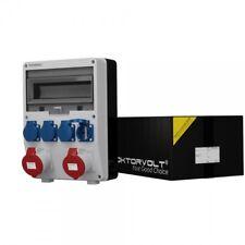 Stromverteiler TD 2x32A 4x230V Baustromverteiler Wandverteiler Doktorvolt 2176