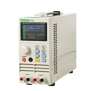 ET5420 Dual Channel Programmable DC Electronic Load 200Wx2 0-150V 20Ax2