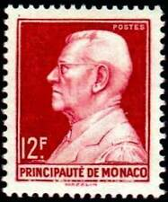 "MONACO STAMP TIMBRE N° 305 "" PRINCE LOUIS II 12 F ROUGE CARMINE "" NEUF xx LUXE"
