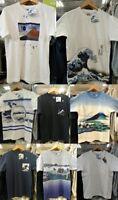 HOKUSAI X UNIQLO UKIYOE Mount Fuji Waves Blue T-Shirt  XS S M L XL  XXL 3XL 4XL