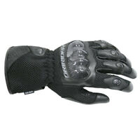 NEW Motorcycle Dririder Air-Ride Summer Black Road Gloves - 4003120_79