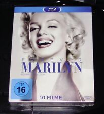 Marilyn Monroe Box for Ever Marilyn 10 Movies Blu Ray Faster Shipping Nip