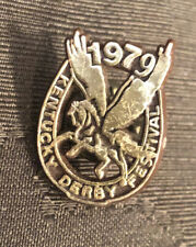 1979 Kentucky KY Derby Festival Pegasus Gold Instant Win Pin