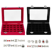 Empty Storage Container Box Case for Nail Art Tips Rhinestone Gems Tool HL