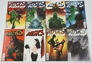 Masks #1-8 VF/NM complete series shadow/zorro/green hornet/kato jae lee variants
