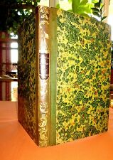 Dictionnaire pittoresque de Marine. 1835. Relié et illustré de gravures
