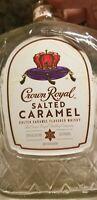 Crown Royal Bottle Salted Caramel Bottle With Original Labels