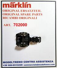 MARKLIN 70200 - 702000  CARRELLO CON GANCIO - ACHSLAGER MIT KUPPLUNG 4600