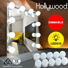 Dimmable Hollywood LED Vanity Mirror Light Kit for Makeup Dressing,10 Bulbs