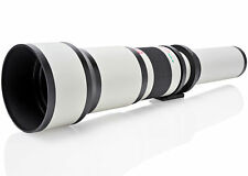 Opteka 650-2600mm Telephoto Lens for Canon EF-M M100 M10 M6 M5 M3 M2 EOS-M