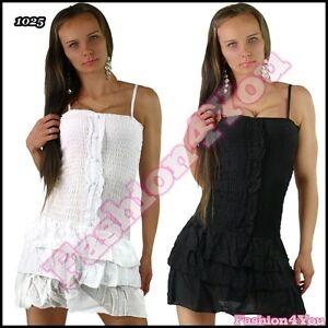 Sexy Women's Mini Dress Casual Summer Ladies Short Dress One Size 6,8,10 UK