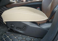 1pc Beige PU Leather 3D Full Surround Car Seat Protector Seat Cover Accessories