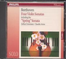 BEETHOVEN - 4 Violin Sonatas - Arthur GRUMIAUX / Claudio ARRAU - Philips