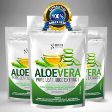 Aloe Vera 6000mg x 60 Tablets Pills HEALTHY SKIN, HAIR, JOINTS & DETOX Capsules