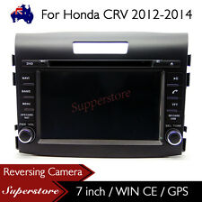 "7"" Car DVD Nav GPS Touch Screen Radio Stereo For Honda CRV CR-V 2012-2016"