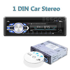 Single 1 Din Car Dvd Cd Mp3 Player Audio Fm Radio Bt In-dash Usb/Aux/Sd Stereo