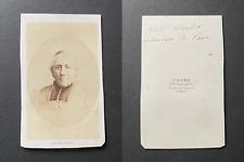 Pesme, Paris, Monseigneur Morlot archevêque de Paris, circa 1860 vintage cdv alb