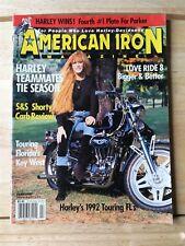 American Iron Magazine February 1992 - Love Ride 8 - Touring FLs - Daytona