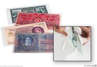50 Pochettes de protection BASIC 170 pour billet de banque  LEUCHTTURM - 341 221