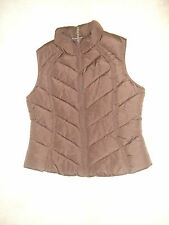 Brown Quilted Body Warmer by George Size 14