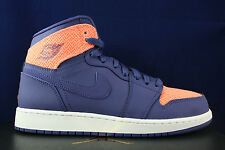 AIR JORDAN 1 HIGH RETRO GG GS I DARK PURPLE ATOMIC PINK 332148 500 SZ 7 Y