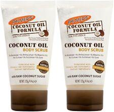 2x Brand New Palmer's COCONUT OIL FORMULA with RAW COCONUT SUGAR BODY SCRUB 125g