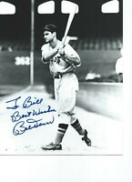 Bobby Doerr Boston Red Sox Autographed  8X10 Black & White PHOTO