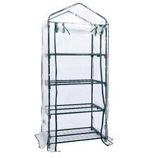 "New 4 tier Mini 63"" Portable GreenHouse w/Shelves Mini Green Plants House"
