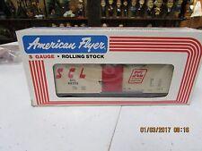 AMERICAN FLYER 6-48306 S GAUGE SEABOARD COAST LINE BOX CAR (OLDER LIGHTLY USED)