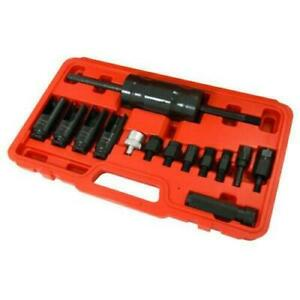 NEILSON 14PC PIECE INJECTOR EXTRACTOR SET WITH SLIDE HAMMER CT3154