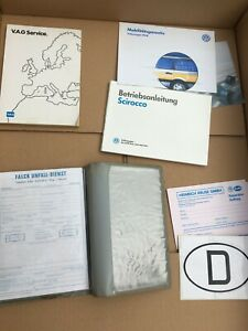VW Scirocco 53b Betriebsanleitung Servicemappe