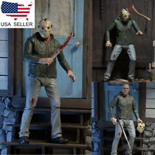 "NECA 7"" Action Figure Friday the 13th Part III 3D JASON VOORHEES Model Toys US"