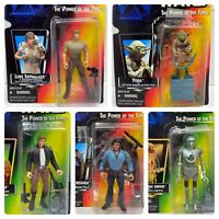 (Loose, 100% Comp.) '95-'97 Kenner The Power of the Force Star Wars 5 Figure Lot