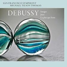 San Francisco Symphony Michael Tilson Thomas - Debussy: Images, Jeux  (NEW SACD)