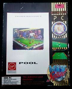 Archer Macleans Pool- Big Box Game For PC