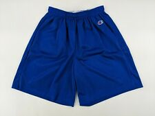 Champion Authentic Wear Youth Basketball Shorts Blue Size Youth Large