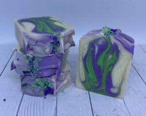 BULK 4 Pack Handmade ~ WHIMSY ~ Fragrance Oil Soap AUSTRALIAN MADE