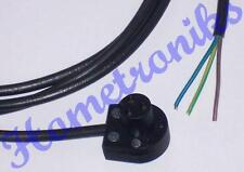 2 PACK - 3 PIN BULGIN MAINS LEAD FOR QUAD 33, 303, FM3