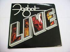 FOGHAT - LIVE - LP VINYL 1977 U.S.A. PRESS