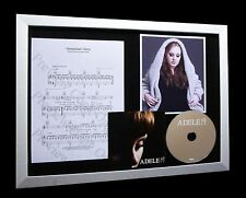 ADELE Hometown Glory GALLERY QUALITY CD MUSIC FRAMED DISPLAY+EXPRESS GLOBAL SHIP
