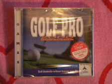 GOLF PRO 2000 DOWNUNDER For PC CD-ROM WINDOWS 3.1/95 *BRAND NEW* SoftKey 1997