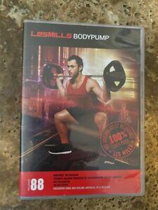 Les Mills BODYPUMP 88 DVD, CD, Notes body pump