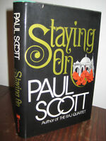 1st Edition Staying On Paul Scott Booker Prize 2nd Printing Fiction Novel