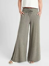 Athleta Compose Wide Leg Pant, Olive SIZE S                       #405668 N0806