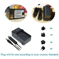 2400mAh BN-VF823U BN-VF808U Battery+Charger for JVC MiniDV and Everio Camcorder