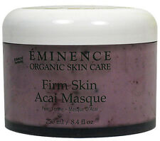 Eminence Firm Skin Acai Masque Mask Anti Aging 250ml(8.4oz) Prof Fresh New