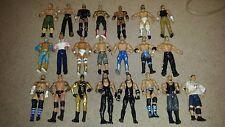 lot of 22 WWE Wrestling Figures - Undertaker - Teddy Long - John Cena - CM Punk